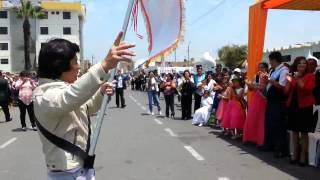 """Desfilando en las Fiestas Aniversarias del """"Víctor Larco"""""""