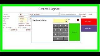 Dinamo Erp' de Tasarlanmış Süre Takibi Kayıt & Operasyon Bildirimi Makrosu