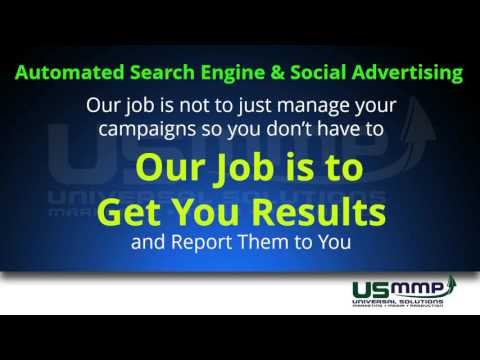 Automated Search Engine And Social Advertising USMMP