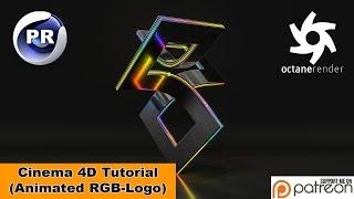Animated RGB -Logo (Cinema 4D Tutorial)