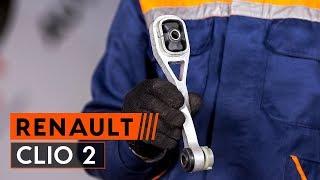 Hogyan cseréljünk Motortartó gumibak RENAULT THALIA I (LB0/1/2_) - online ingyenes videó