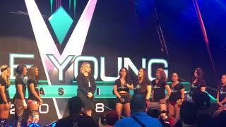 EXCLUSIVE - WWE Mae Young Classic 2018 Night 2 Introductions and Matchups #MYC2018