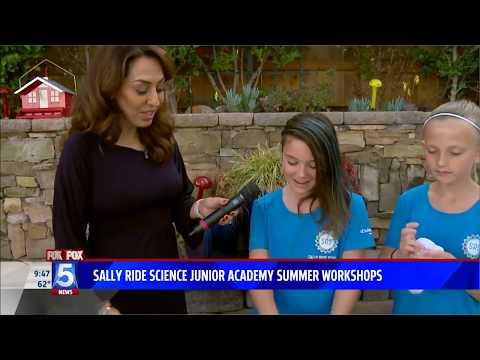 Sally Ride Science Junior Academy STEAM Workshops (FOX5)