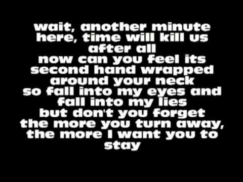 Evans Blue  Cold But Im Still Here Lyrics