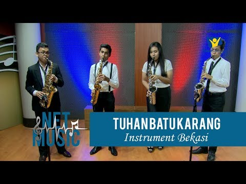 NET MUSIC | Tuhan Batu Karang Kita | Instrument Bekasi