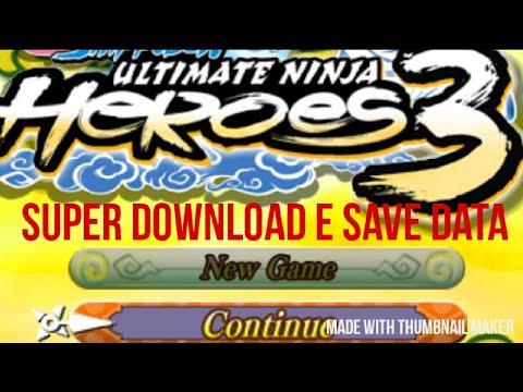 download save data tamat naruto narutimate ninja accel 3