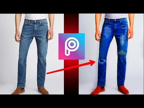 Damage Jeans Png Free Download All Png How To Make Normal Jeans