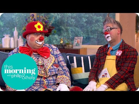 The Clowns Who Say the 'IT' Movie Could Ruin Their Careers | This Morning