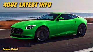 Nissan 400Z Latest Info + BMW M3 Engine Scoop