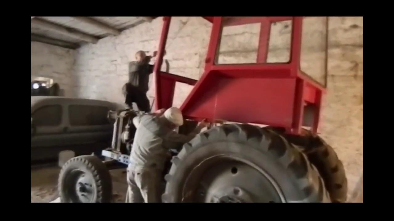 Самодельный трактор 4Х4. Обзор - YouTube
