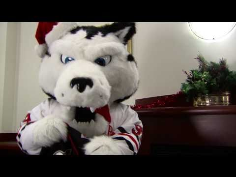 Happy Holidays from Northeastern University Athletics