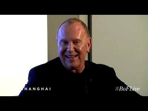 Michael Kors in conversation with Imran Amed—Recorded live in Shanghai.