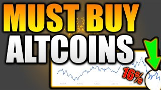 Top 5 ALTCOINS at PERFECT TARGETS NOW! - BUY THE BOTTOM! - Top 5 Crypto Altcoins to Buy Sept 2021!