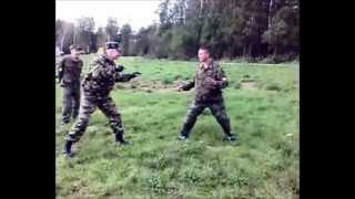 Ножевой бой  Тренировка  СпН ВВ