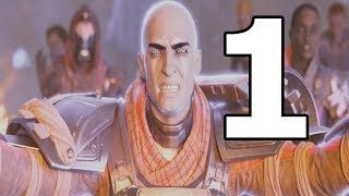 Destiny 2 Walkthrough Part 1 - No Commentary Playthrough (PS4)