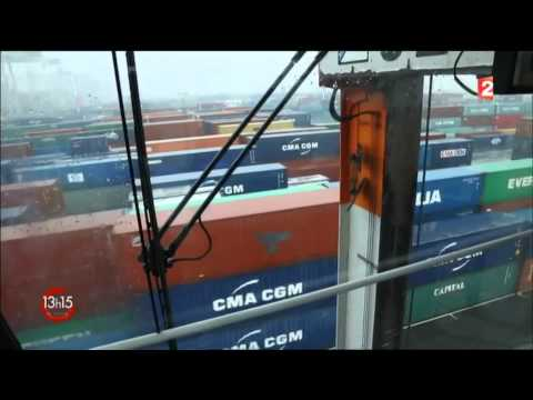 Reportage sur HAROPA-Port du Havre diffusé sur France 2