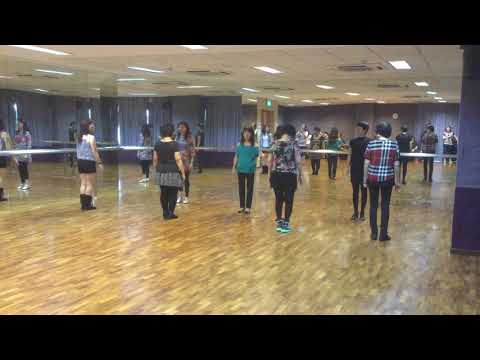 D I S C O line dance (Alternative music: Jingle Bells Rock)