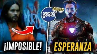 Download ¡TODO CAMBIA! Mañana sabremos si existe el Multiverso en Morbius, ¿Tony Stark regresará? Mp3 and Videos