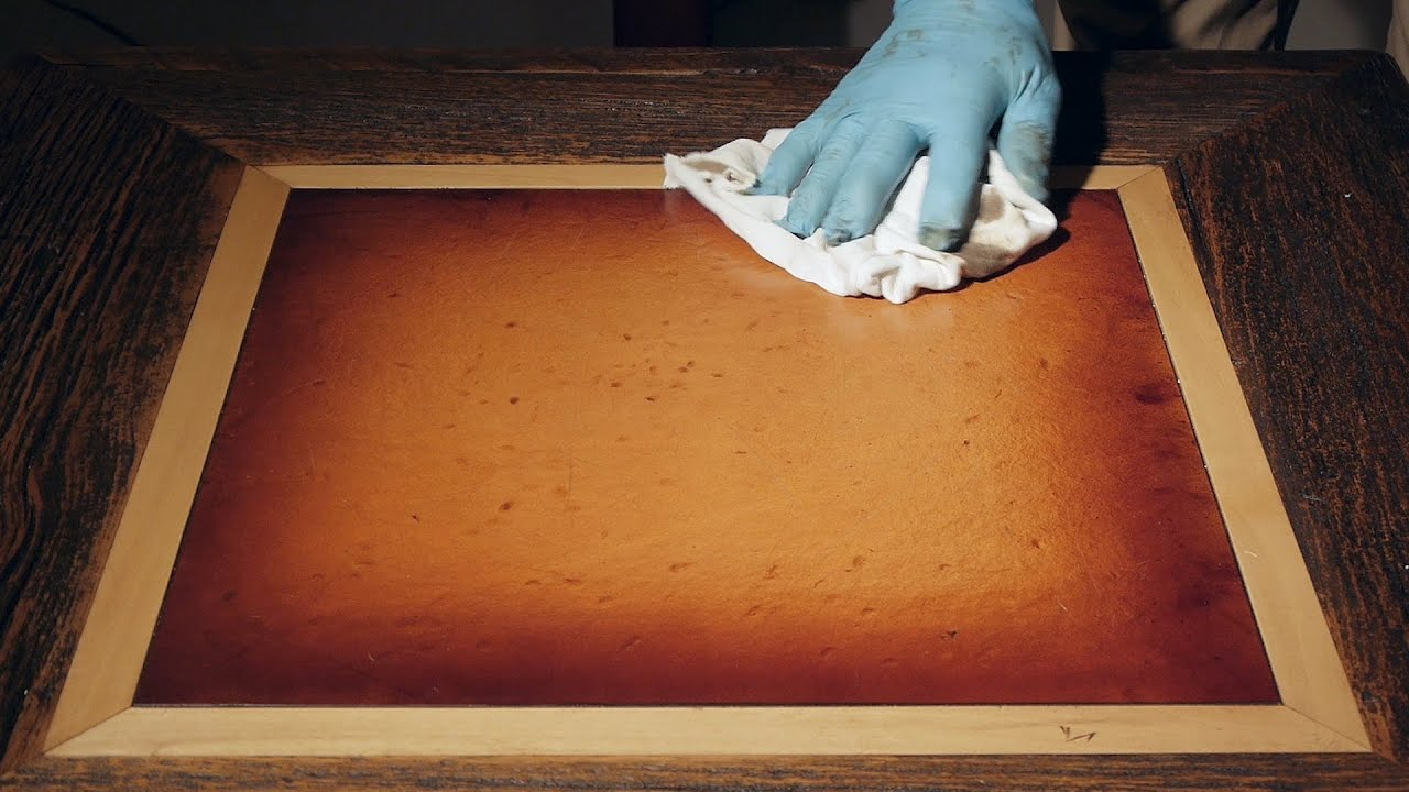 DIY Leather U0026 Furniture Restoration   Western Heritage Furnitureu0027s  Reclaimed Barnwood   YouTube