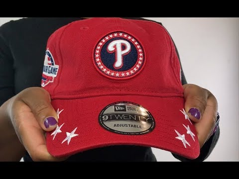 Phillies  2018 MLB ALL-STAR WORKOUT STRAPBACK  Hat by New Era - YouTube 235a4c7e7368