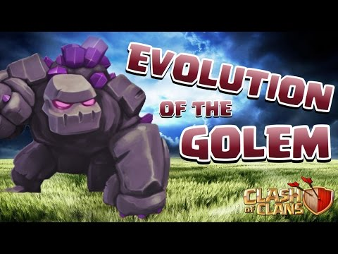 CLASH OF CLANS - MOST POWERFUL GOLEM ATTACK STRATEGIES
