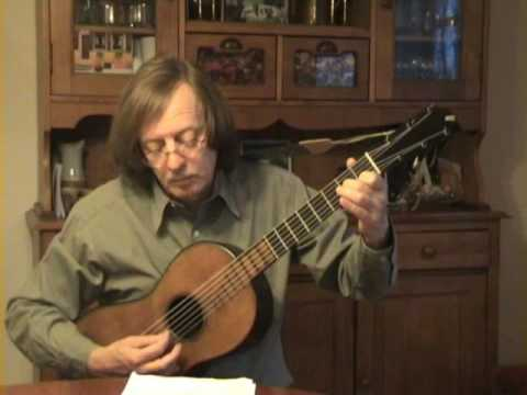 Dionisio Aguado - Etude - Romantic Guitar