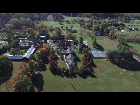 A View of Solebury School From Above