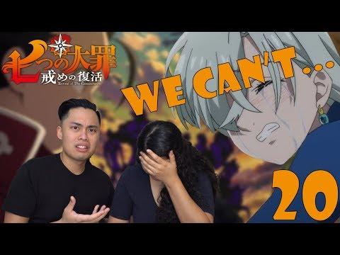 The Seven Deadly Sins Season 2 Episode 20 Reaction (Nanatsu no Taizai) *EMOTIONAL* MELIODAS DEATH 😥