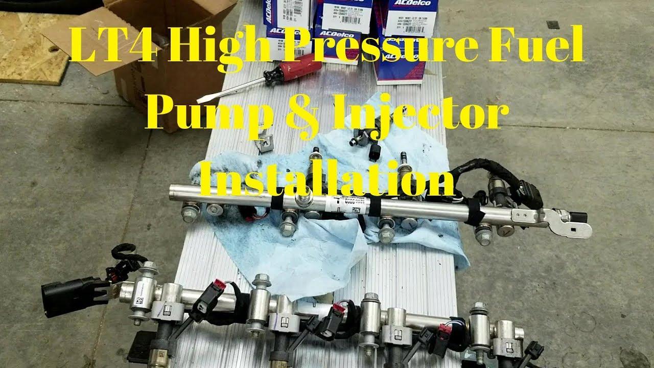 LT4 Injector & LT4 High Pressure Fuel Pump Installation