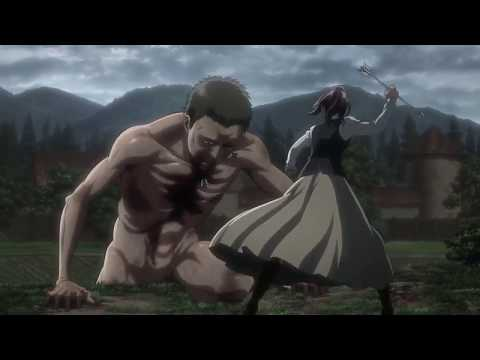 AL:Lu goes with everything : AoT Season 2 Sasha BADASS scene