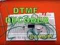 DTMF DECODER using IC MT8870 | IN HINDI