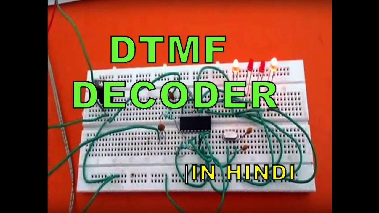 dtmf decoder ic mt8870 pin diagram 1987 yamaha virago 535 wiring using in hindi youtube