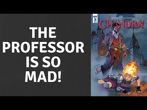 SJW's & The Professor Engraged Over Magic Comic Cover!