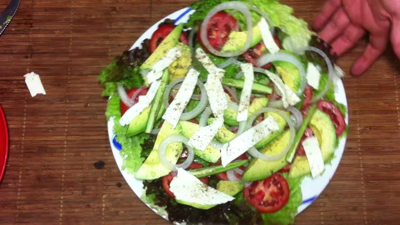 Ensalada de aguacates comida sana y f cil youtube - Comida sana y facil para adelgazar ...