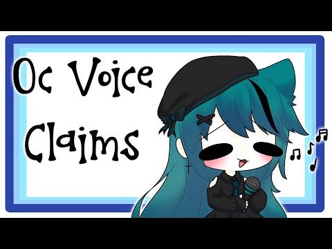 •  - Oc Voice Claims -  • READ DESCRIPTION -  •
