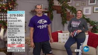 HSN | Football Fan Shop Gifts 12.07.2016 - 04 AM
