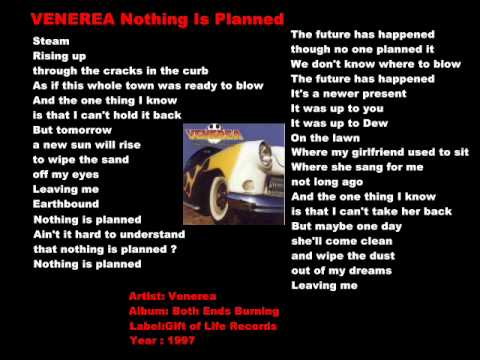 VENEREA  - Nothing Is Planned