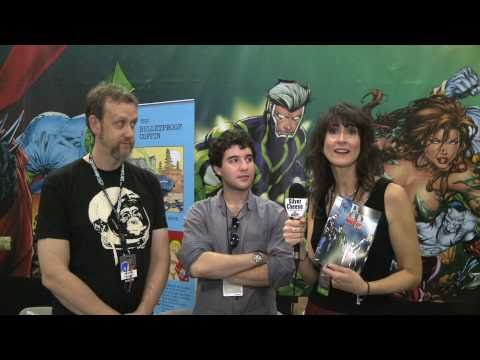 NY Comic Con 2010: (Michael) Benaroya Publishing: Dave Elliott & Daniel Hendler