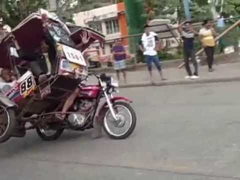 V2  Pagadian City motorized tricycle exhibition  Jan  15, 2015