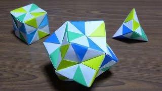 Repeat youtube video origami 折り紙「くす玉」の作り方  (リメイク版)