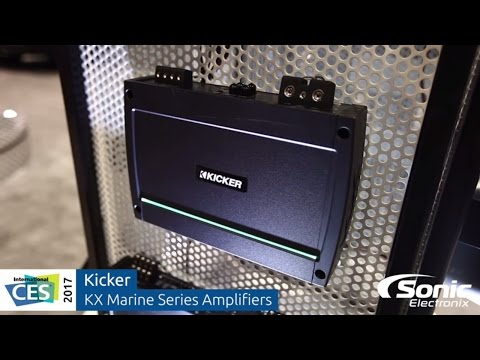 Kicker KX Marine Series Amplifiers | CES 2017