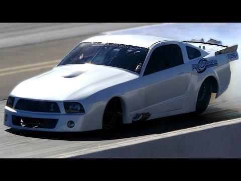 Street Outlaws Kayla Morton New ProCharged Mustang