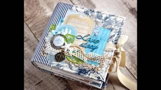 Свадебный морской миник из бумаги BLUE SEA от Bee Shabby