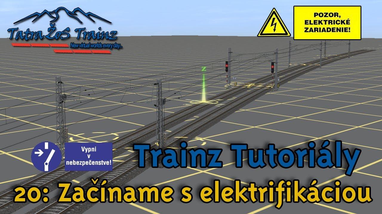 Tatra Zos Trainz Tutorialy 20 Zaciname S Elektrifikaciou Schema