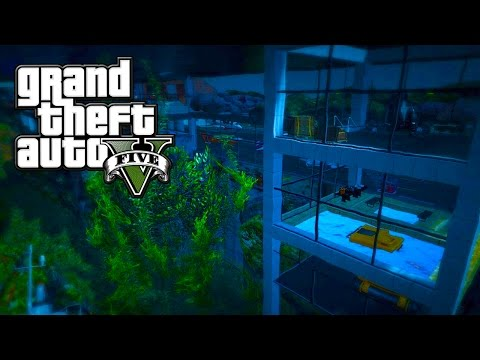 SECRET UNDERWATER HEADQUARTERS IN GTA 5 & INSANE YACHT PARTY! (GTA 5 Mods)