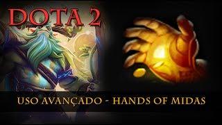 Dota 2 - Hands of Midas - Máximo proveito