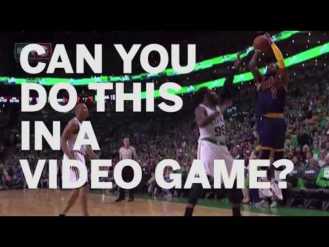 Kyrie Irving's moves defy even the law of video games