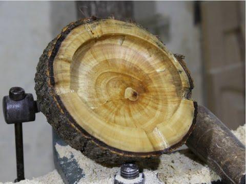Woodturning   The Wooden Ashtray!