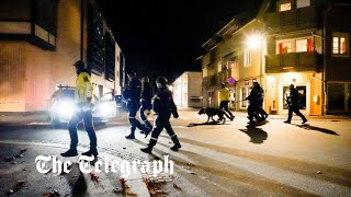 video: Norway bow and arrow attack: At least five people killed in Kongsberg