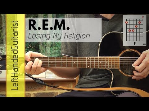 REM - Losing My Religion | acoustic guitar lesson
